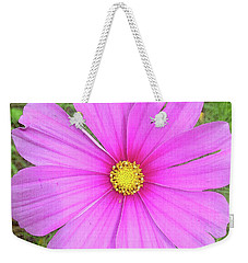 Weekender Tote Bag featuring the photograph Pink by Terri Harper