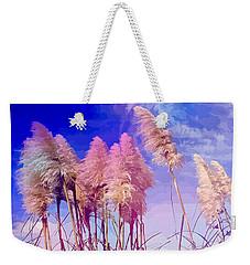 Pink Toi Toi Grasses Weekender Tote Bag