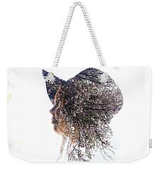 Pink Tree Weekender Tote Bag
