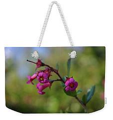 Pink Trumpets Weekender Tote Bag by Adria Trail