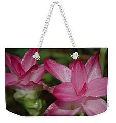 Pink Twins Weekender Tote Bag