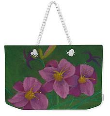 Pink Whispers Weekender Tote Bag
