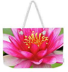 Pink Zen Weekender Tote Bag