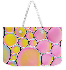 Weekender Tote Bag featuring the photograph Pinkalicious by Tim Gainey