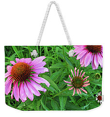 Pinks In Bloom Weekender Tote Bag
