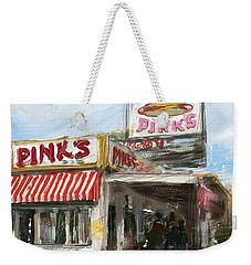 Pinks Weekender Tote Bag