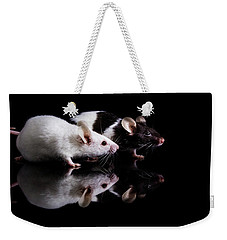 Pinky And Dot Weekender Tote Bag