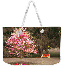 Pinky And The Bench - Impressionism Weekender Tote Bag