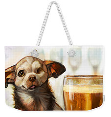 Pint Sized Hero Weekender Tote Bag by Sean ODaniels