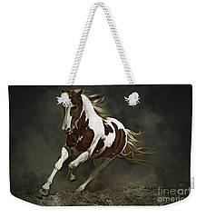 Pinto Horse In Motion Weekender Tote Bag