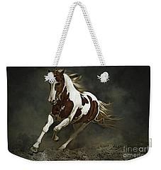 Pinto Horse In Motion Weekender Tote Bag