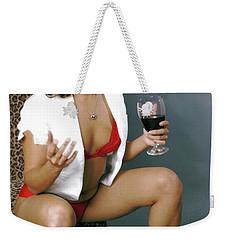 Pinup Babe Weekender Tote Bag