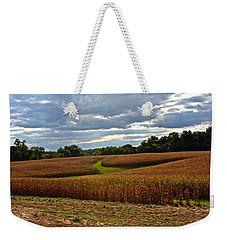 Pinwheel Cornfield Weekender Tote Bag
