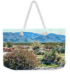 Pinyon Mtns Desert View Weekender Tote Bag