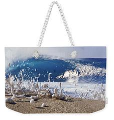 Pipe Foam Weekender Tote Bag