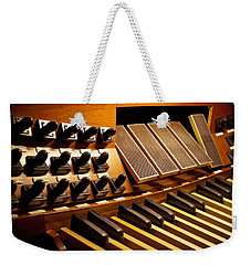 Pipe Organ Pedals Weekender Tote Bag