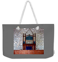 Pipe Organ Weekender Tote Bag