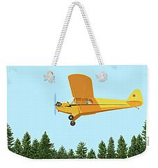Piper Cub Piper J3 Weekender Tote Bag