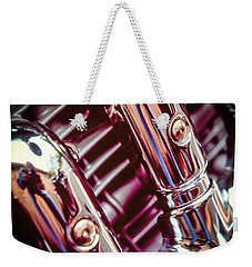 Weekender Tote Bag featuring the photograph Pipes by Samuel M Purvis III