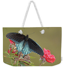 Pipevine Swallowtail Weekender Tote Bag by Alan Lenk
