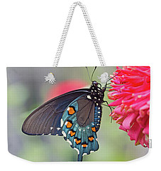 Pipevine Swallowtail Butterfly Weekender Tote Bag