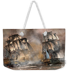 Pirate Battle Weekender Tote Bag