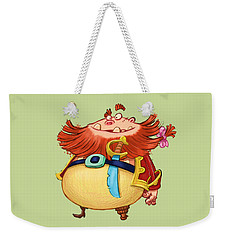 Pirate Captain Weekender Tote Bag