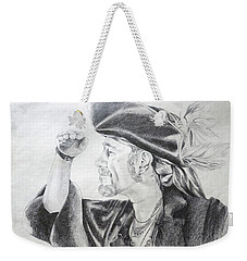 Pirate Mikey Portrait Drawing Weekender Tote Bag