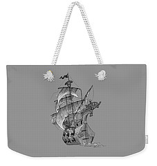 Pirate Ship Weekender Tote Bag