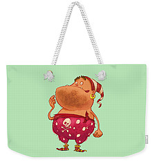 Pirate Thug Weekender Tote Bag