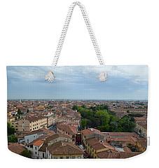Pisa From Above Weekender Tote Bag
