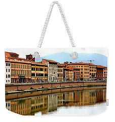 Pisa Reflections Weekender Tote Bag