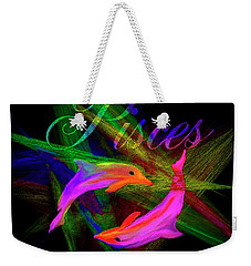 Pisces, By Sherr's Of Palm Springs Weekender Tote Bag