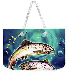 Pisces In The Sky Weekender Tote Bag