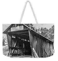 Pisgah Covered Bridge No. 1 Weekender Tote Bag