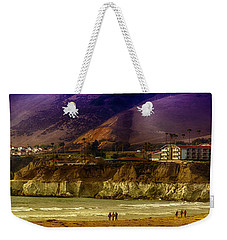 Pismo Beach Cove Weekender Tote Bag