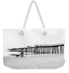 Pismo Beach Pier Weekender Tote Bag by Ralph Vazquez