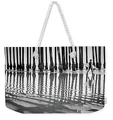 Pismo Beach Surfer Weekender Tote Bag