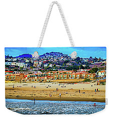Weekender Tote Bag featuring the photograph Pismo Hilltop Ocean View by Joseph Hollingsworth