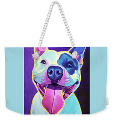 Pit Bull - Big Louie Weekender Tote Bag