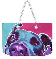 Pit Bull - Candy Weekender Tote Bag