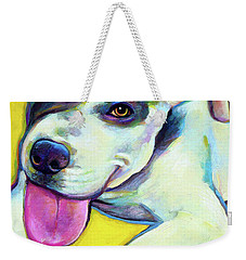 Pit Bull Puppy Weekender Tote Bag