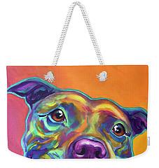 Pit Bull - Rainbow Weekender Tote Bag