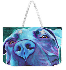 Pit Bull - Sky Blue Weekender Tote Bag