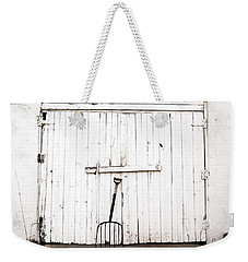 Pitch Fork Weekender Tote Bag