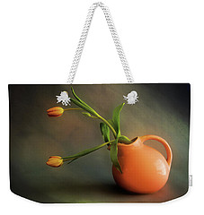 Pitcher Of Blooms Weekender Tote Bag