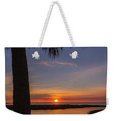 Pitt Street Bridge Palmetto Sunset Weekender Tote Bag