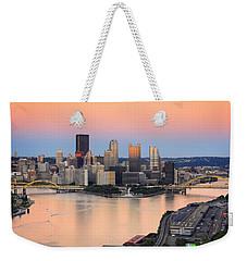 Pittsburgh 16 Weekender Tote Bag by Emmanuel Panagiotakis