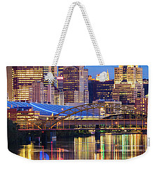 Pittsburgh 2 Weekender Tote Bag by Emmanuel Panagiotakis