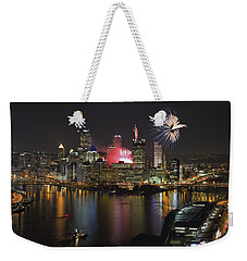 Pittsburgh 3 Weekender Tote Bag by Emmanuel Panagiotakis